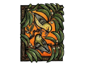 Akialpola'au Love limited edition fine art print