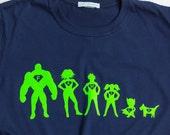 Superhero Family T shirt