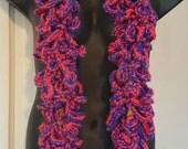 Hot Pink Crochet Boa by im.butterflycreations