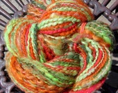 Butterflies In The Garden~Handspun Worsted Art Yarn~108 yds & 2.1 oz