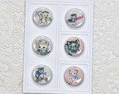 Kitty Flair Buttons Set 1