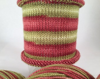 Robin From The Rich: Hand-dyed gradient self-striping sock yarn, 80/20 SW merino/nylon