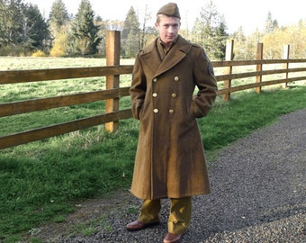 WWII Army Air Force Winter Coat 38 S