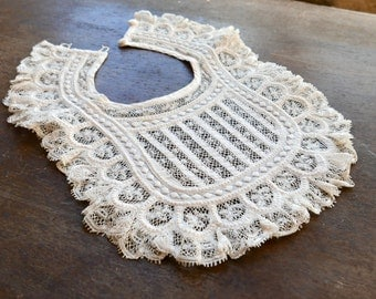 Antique Christening Bib