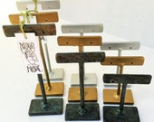 Earring Holders - Set of 3 - ESET2 - Tiny T Stands - Post-Drop Style