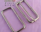 15 Adjustable Strap Sets - 50mm / 2 inch wide (available in nickel finish)
