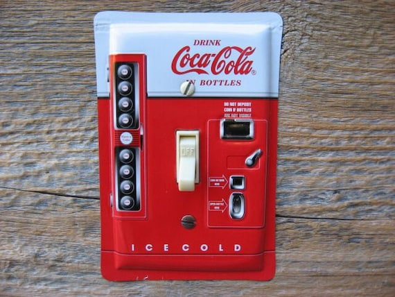 Coke Coca Cola Collectibles Switch Plate Plates Made From