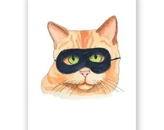 Halloween Cat Card