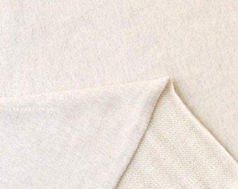 Japanese Fabric FrenchTerry Knit - oatmeal cream - 50cm