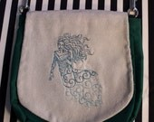 Pouch Spare Pocket Embroidery Banshee