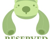 Reserved for libertyherring