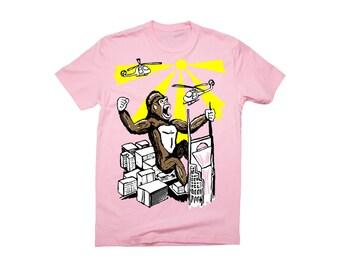SALE! King Kong over Nashville Screen Printed T-shirt