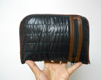 Traveler . foldable top handle bag