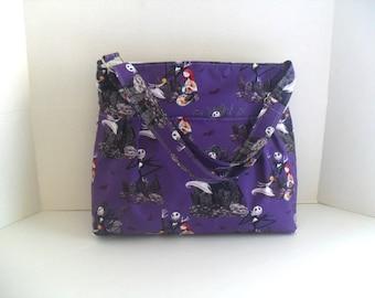 Nightmare Before Christmas Bag - Diaper Bag - Messenger Bag - Crossbody