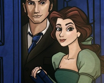 Limited Edition Belle and the Doctor Con Exclusive Print