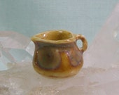 Tiny Miniature Pitcher or Creamer in Dollhouse Scale