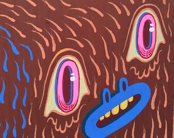 Bigfoot Head cutout