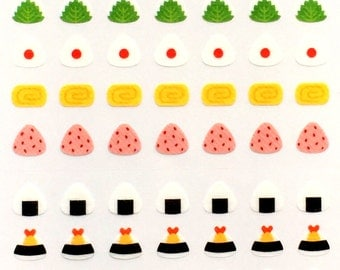 Japanese Stickers - Japanese food Stickers - Food Stickers - Cute Stickers S245