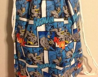 Batman Draw String Back Pack