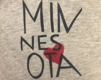 Minnesota onesie or toddler shirt