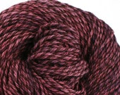Rockwell Hand Dyed DK weight Wool 280 yds 4oz Deepest Amethyst