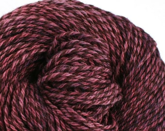 Rockwell Hand Dyed DK weight Wool 280 yds 4oz Hortensia