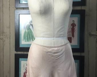 Sale 1930s tap shorts vintage lingerie 30s shorts size medium Flapper lingerie peach silk shorts 1930s lingerie