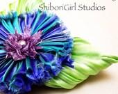 Silk Shibori Ribbon Flower Daisy Kit