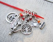 Hunger Games/Catching Fire - Non-Snag Stitch Markers