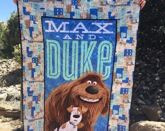 Fabric Chicks-Max and Duke Quilt Kit