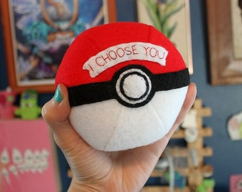 Custom Pokeball- I Choose You!