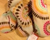 Custom fleece Peacock mittens Shop Small Super sale - Kids size 8-12 Cutiepies Couture