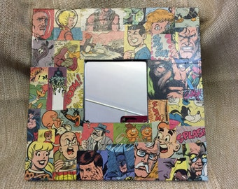 Comic Book Wall Mirror