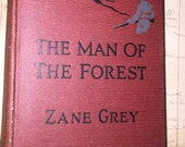 1920 Zane Grey's Man of the Forest