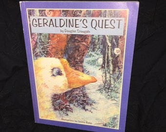 Geraldine's Quest Autographed Book