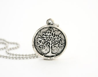 Tree of Life Necklace - family tree necklace - tree jewelry