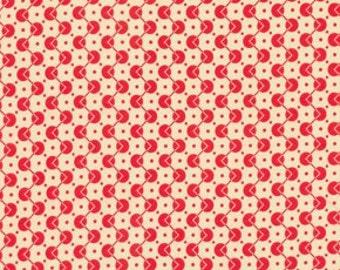 Voltage Dot Red - Chicopee - FreeSpirit Fabrics - Denyse Schmidt - Polka Dots Retro