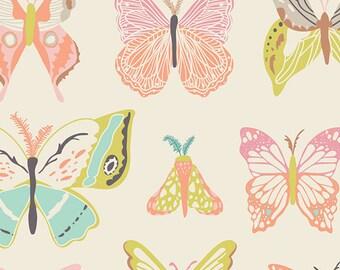 YARDS or HALF YARDS - Wingspan Melon by Bonnie Christine for Art Gallery Fabrics