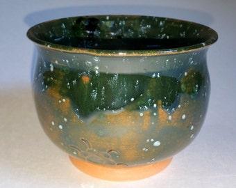 Red Clay Tea Bowl  - Wheel Thrown Pottery - Chawan - Matcha Cup - Tea Cup