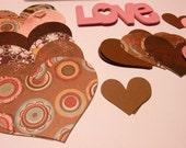 Valentine DIY Kit Pinks and Browns