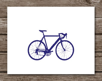 PRINTABLE Bike Note Cards, Bicycle Note Cards, Bike Notecards, Bicycle Notecards, Bike Stationery, Bike Stationary
