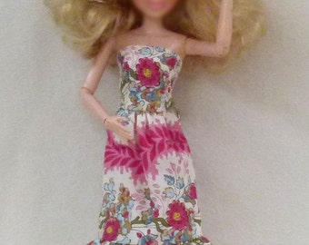 """11.5"""" Fashion Doll Clothes - floral"""