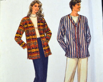 Vintage Sewing Pattern Simplicity 9131 It's Sew Easy Shirt and Pull on Pants  Chest 30-46 inches Complete UNCUT