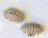 Sparkly Glam...Vintage Rhinestone Shoe Clips