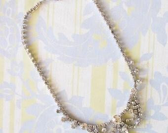 So Smashing...Fantastic Vintage Rhinestone Necklace