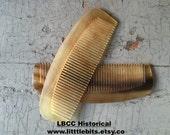 A Fine Horn Comb