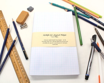 Graph Paper Journal Refill