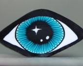 Polymer Clay Eye Cane -'Mystical Meadow' (39bb)