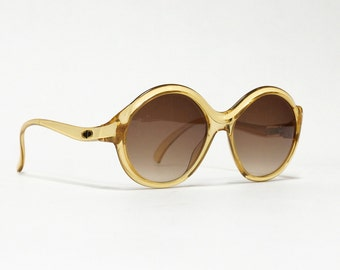 Vintage DIOR sunglasses, 80s deadstock sunglasses, round sunglasses in unworn condition