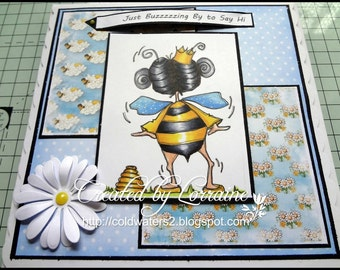 200 Just Bee Cause Digi Stamp